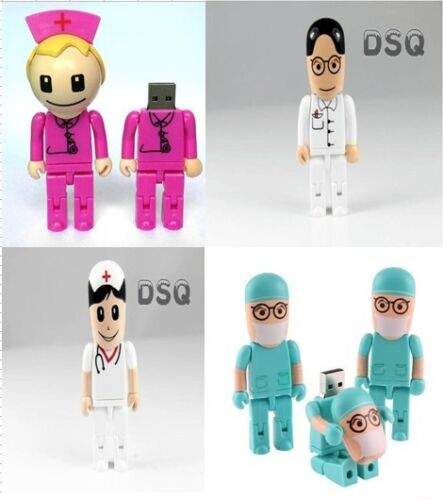 Full 4-32 GB New doctor pink cartoon model usb 2.0 memory stick flash pen drive in Consumer Electronics, Gadgets & Other Electronics, Other | eBay