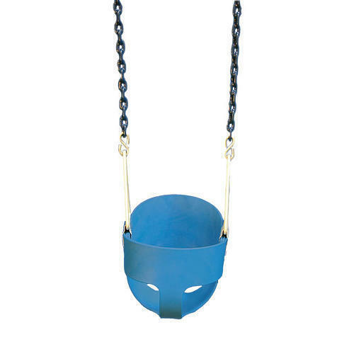 Full Bucket Swing Blue with Chain, Toddler Bucket Swing, Swingset Swing Seat, in Toys & Hobbies, Outdoor Toys & Structures, Swings, Slides & Gyms | eBay