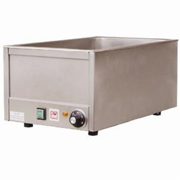 Full Size Commercial Countertop Electric Food Warmer Steam Table
