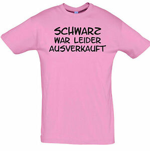fun shirt schwarz war ausverkauft t shirt druck party. Black Bedroom Furniture Sets. Home Design Ideas