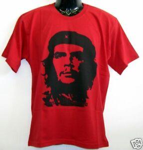 Fun-T-Shirt-Che-Guevara-Rot-S-XXL