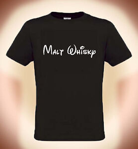 Fun-T-Shirt-Malt-Whisky-NEU-Groessen-S-bis-5XL