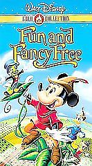 Fun and Fancy Free (VHS, 2000, Gold Coll...