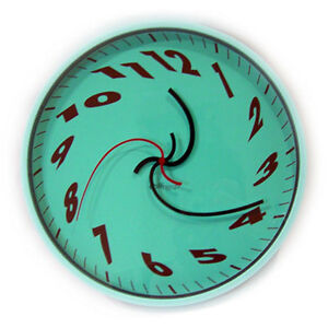 Funky Unique Dali Wall Clock Modern Art Cool Special