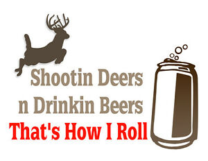 Funny Hunting t shirt Deer Hunting bow hunter beer shirt stabilizer