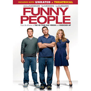 Funny People (DVD, 2009, Rated/Unrated V...