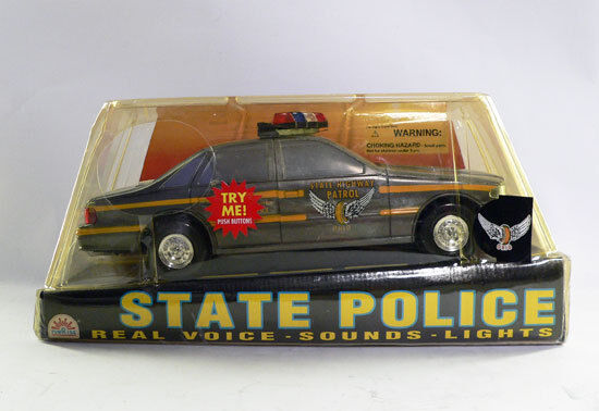 Funrise State Police Ohio State Highway Patrol Police Car w Sounds