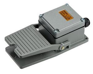 Fussschalter-LT3-ohne-Schutzhaube-Trittschalter-Fusspedal-Schalter-Fernschalter