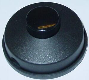 Fusstretschalter-Tretschalter-Fussschalter-rund-230V-2A-schwarz-S63