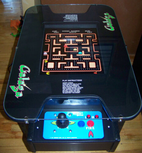 GALAGA MS. PACMAN PAC MAN ARCADE COCKTAIL GAME NEW in Collectibles, Arcade, Jukeboxes & Pinball, Arcade Gaming | eBay