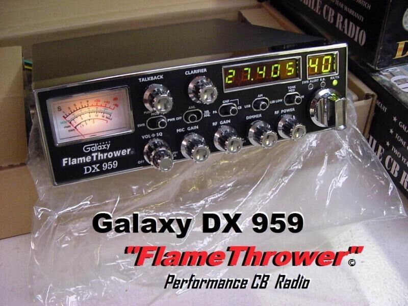 Galaxy DX9Flamethrower Edition High Performance SSB Am CB