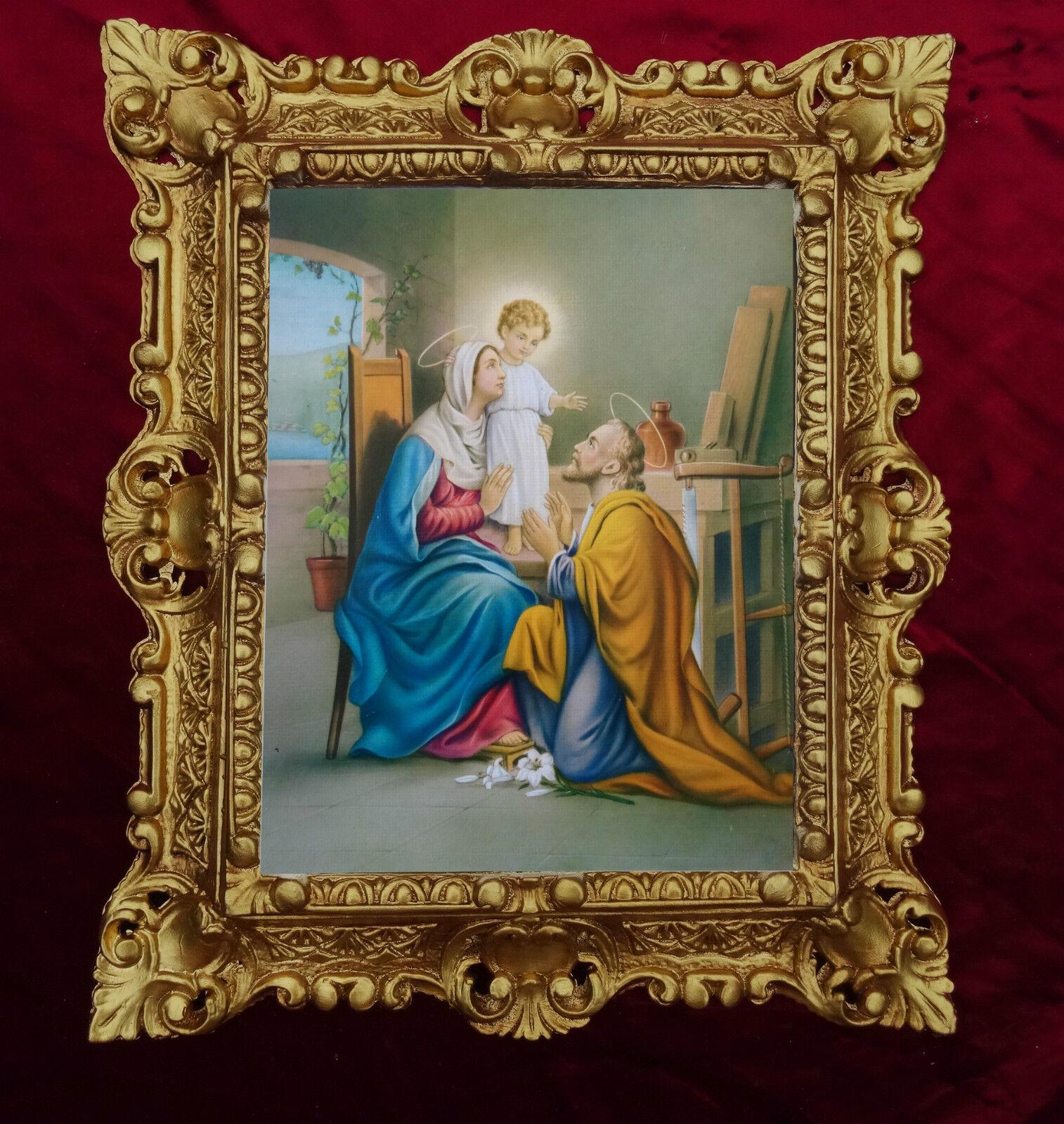 Dipinto sacra famiglia sacra famiglia icone quadri antico for Quadri sacra famiglia moderni prezzi