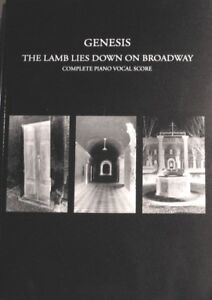 GENESIS - THE LAMB LIES DOWN ON BROADWAY - SHEET MUSIC in Musical Instruments & Gear, Sheet Music & Song Books, Song Books | eBay