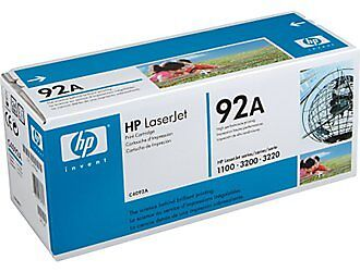 GENUINE HP LaserJet 1100 3200 Series Printer Black Toner Cartridge C4092A in Computers/Tablets & Networking, Printers, Scanners & Supplies, Ink, Toner & Paper | eBay