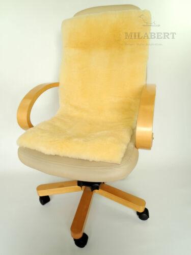 Genuine Medical Sheepskin Seat Amp Back Cushion Mat Pad