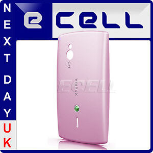 GENUINE-SONY-ERICSSON-SK17-XPERIA-MINI-PRO-PINK-BATTERY-BACK-COVER-CASE
