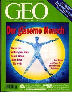 GEO 6/1996 GEO 6/96 ZUKUNFT STADT*GLÄSERNE MENSCH*JALTA*EVOLUTION PSYCHOLOGIE - <span itemprop='availableAtOrFrom'>Karlsruhe, Deutschland</span> - GEO 6/1996 GEO 6/96 ZUKUNFT STADT*GLÄSERNE MENSCH*JALTA*EVOLUTION PSYCHOLOGIE - Karlsruhe, Deutschland