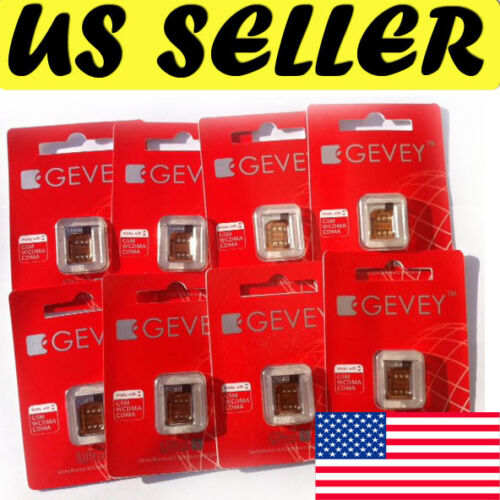 GEVEY SIM Ultra S Multi-Network Unlock CDMA GSM iPhone 4S with SETUP Sim Card in Cell Phones & Accessories, Phone Cards & SIM Cards, SIM Cards | eBay