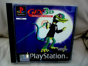 GEX-3D-ENTER-THE-GECKO-Genuine-PS1-PS2-PS3-Game
