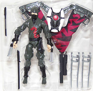"DARK NINJA Glider Wings 2013 Retaliation Movie NEW 3.75"" Action Figure"