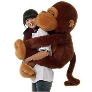 GIANT HUGE BIG STUFFED ANIMAL SOFT PLUSH MONKEY DOLL PLUSH TOYS in Toys & Hobbies, Stuffed Animals, Other | eBay
