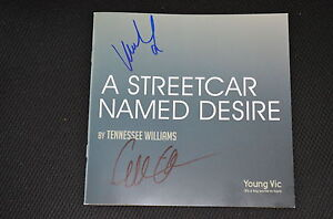 GILLIAN-ANDERSON-VANESSA-KIRBY-Jupiter-Ascending-signed-Autogramm-In-Person