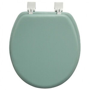 Ginsey soft toilet seat std round peridot green ebay - Commode classique ...