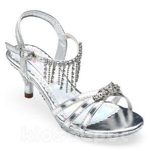 fancy rhinestone dress shoes pageant flower