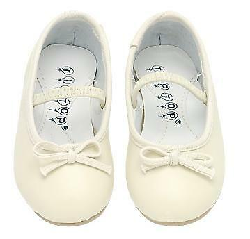 GIRLS KIDS DRESS SHOES Wedding Formal Pageant IVORY