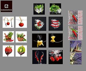 Glasbilder deko wand bild deco float glas bild frucht obst for Deko kuche wand