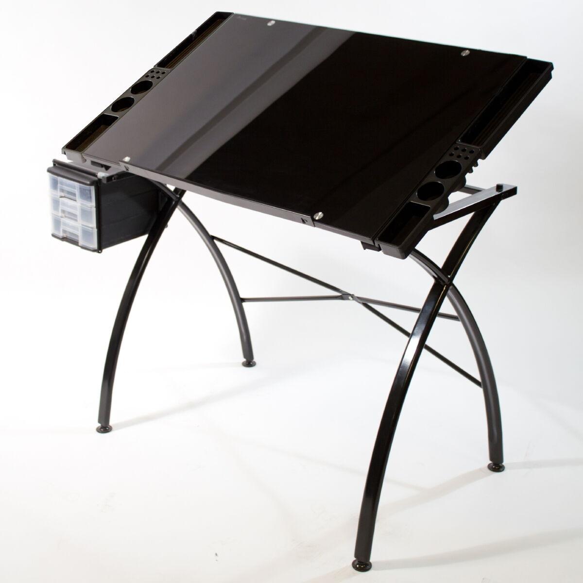 Hobby Line Glas Design New Art : Glass drawing art drafting table desk hobby craft