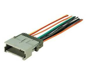 gm 4004 gm05b car radio factory wiring harness adapter metra 70 2003 ebay