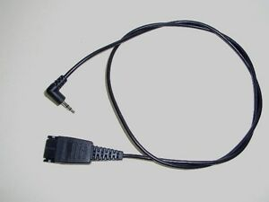 GN-Netcom-8800-00-52-QD-to-2-5mm-plug-Adapter-Cable-1005143-for-Cisco-SPA502-508