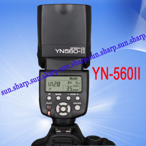 GN58 YONGNUO Upgraded Flash Speedlite YN-560II for Canon 450D 400D 350D 300D 60D in Cameras & Photo, Flashes & Flash Accessories, Flashes | eBay
