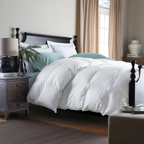 Goose Feather Down Duvet Quilt All Season Single Bed Size 40
