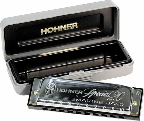 GREAT BRAND NEW BUNDLE HOHNER HARMONICA SPECIAL 20 KEY OF C + FREE MINI HARP in Musical Instruments & Gear, Harmonica, Contemporary | eBay
