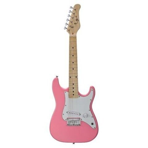 GREAT BRAND NEW JAY TURSER 1/2 SIZE PINK ELECTRIC GUITAR PAK W/AMP CORD & STRAP in Musical Instruments & Gear, Guitar, Electric | eBay