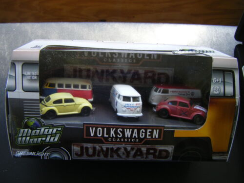 GREENLIGHT MOTOR WORLD JUNKYARD VOLKSWAGEN CLASSICS in Toys & Hobbies, Diecast & Toy Vehicles, Cars, Trucks & Vans | eBay