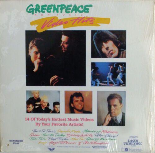 GREENPEACE Non-Toxic Video Hits Laserdisc Music Videos LD RARE Talk Talk Depeche in DVDs & Movies, Laserdiscs | eBay