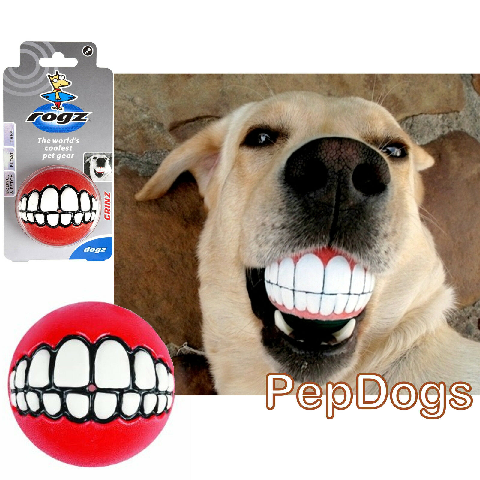 Novelty Pet Mouth Dog Toys Puppy Squeak Chewing Funny ... |Fun Dog Toys