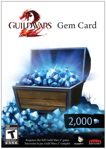 GUILD WARS 2 2000 GEM CARD *NEW* in Computers/Tablets & Networking, Software, Other | eBay