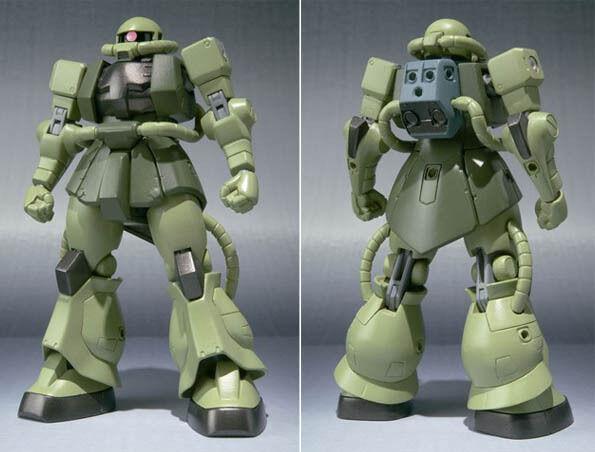 GUNDAM BANDAI RG REAL GRADE MODEL KIT 1/144 #04 MS-06F ...