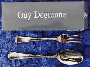 guy degrenne sa france ovp set l ffel gabel neu. Black Bedroom Furniture Sets. Home Design Ideas