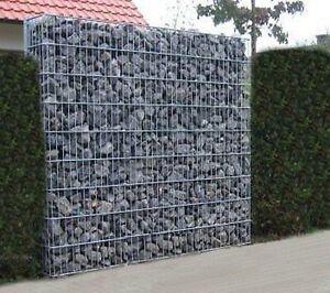 gabionen steinkorb steinzaun gabione zaun garten haus ebay. Black Bedroom Furniture Sets. Home Design Ideas