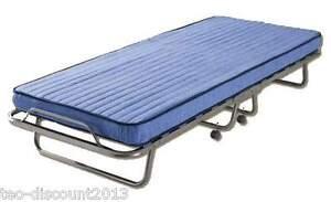 g stebett klappbett bett klappbar mit matratze rollen staubschutzh lle 200 x 80 ebay. Black Bedroom Furniture Sets. Home Design Ideas