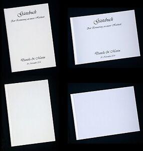 ... -Gaestebuch-Hochzeit-Hardcover-Blanko-zum-SELBST-GESTALTEN-HC80-HC83