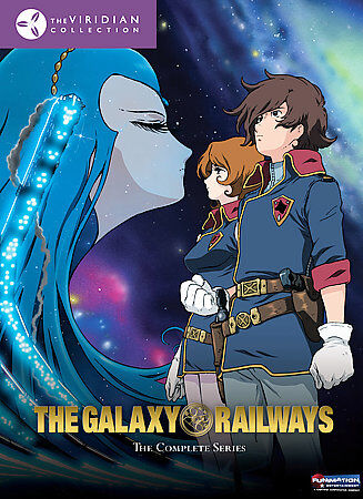 Galaxy Railways   The Complete Series DVD, 2009, 6 Disc Set, Viridian