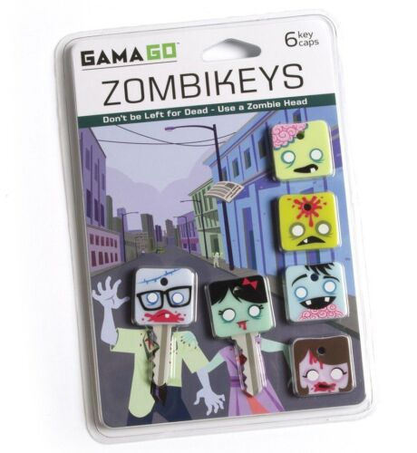 Gama-Go Zombikeys Silicone Living Dead Zombie Key Caps / Covers / Toppers - 6pk in Clothing, Shoes & Accessories, Unisex Clothing, Shoes & Accs, Unisex Accessories | eBay