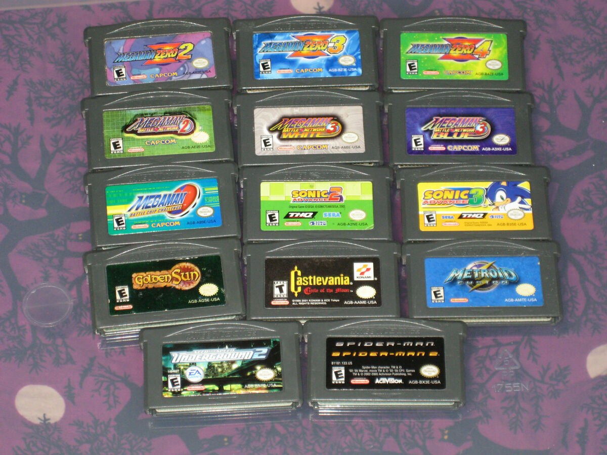 Game Boy Advance Games Your Choice You Pick What You Want N