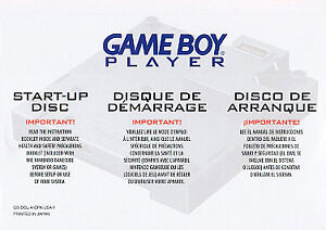Game Boy Player Start-Up Disc  (Nintendo...